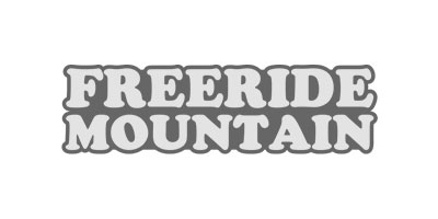 Logo von Freeride Mountain in grau