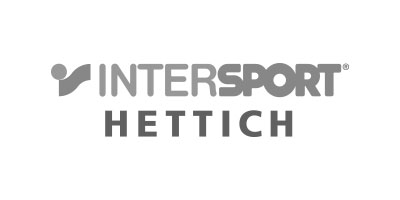 Logo von Intersport Hettich in grau