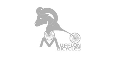 Logo von Mufflon Bicycles in grau